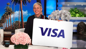 Ellen Tube – Win a $150 Visa Gift Card