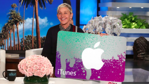 Ellen Tube – Win a $500 iTunes Gift Card