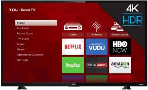 Ellen Tube – Win a 55″ 4K HDR TCL Roku TV