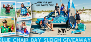 Fishbowl Spirits – 2017 Sleigh Giveaway Blue Chair Bay – Win a secondhand 2014 Jeeps plus more valued at $15,287