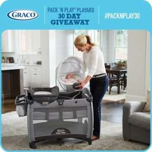 Graco – Pack N Play Quick Connect with Portable Bouncer Playard – Win a Pack n' Play prize for 30 days