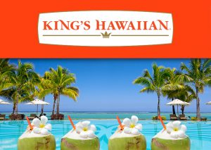 King's Hawaiian Bakery West – 2017 Hallowaiian – Win a trip for 4 to Honolulu, Hawaii valued at $7,600