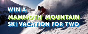 Liftopia – Win a Mammoth Mountain Ski Vacation for 2 valued at $4,175
