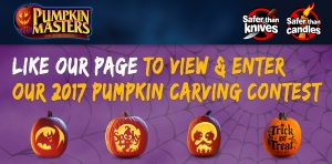 Pumpkin Masters – 2017 Pumpkin Carving – Win a grand prize of $5,000 OR 1 of 16 minor prizes
