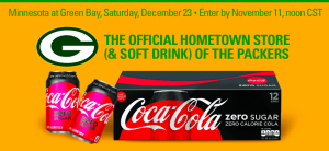 Shopko Stores – Packers Tickets – Win 4 Packers tickets to the game PLUS travel voucher for flights and hotel (total valued at $5,324)
