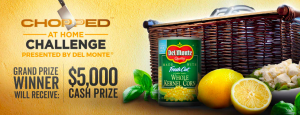 Television Food Network – Chopped At Home Challenge – Win a $5,000 cash prize