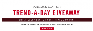 Wilson Leather – Trend-A-Day – Win 1 of 6 Wilsons Leather products