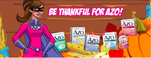 AZO – Gives Thanks – Win 1 of 4 grand prizes OR 1 of 50 minor prizes