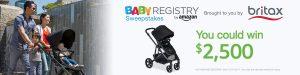Amazon – Baby Registry Britax – Win $2,500 for your registry
