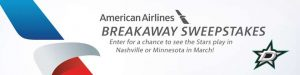 American Airlines – Breakaway – Win 1 of 2 trips