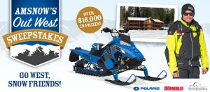 American Snowmobiler – Out West – Win a Polaris 800 Pro-RMK 155 mountain snowmobile PLUS a trip for 2 (total valued at $16,906)