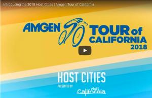 Amgen – 2018 Host City Announcement Trek Bike – Win a Trek Emonda SL6 Pro Bike valued at $3,249