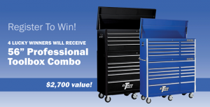 Auto Value – Toolbox Giveaway – Win 1 of 4 Extreme Tool Professional Series 56in Toolboxes