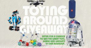 Boys' Life – Toying Around – Win a toy prize package valued at $2,556