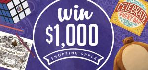 Calendar Holdings – Win $1,000 Shopping Spree