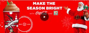 Coca-Cola and 7-eleven – Holiday Slurpee – Win a grand prize of a $100,000 check OR 1 of 8 minor prizes