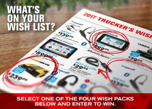 DAS RoadPro Brands – The Trucker Wish List – Win 1 of 4 prize packs