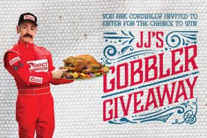 Direct General – 2017 JJ'S Gobbler – Win a Thanksgiving dinner for up to 12 people valued at $600