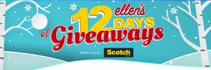 Ellen Tube – 12 Days of Giveaway – Win 1 of 2 prizes each day