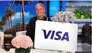 Ellen Tube – Win a $150 Visa Gift Card