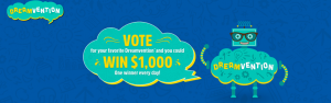 Frito-Lay – Lay's Dreamvention Voting – Win 1 of 36 Instant-Win prizes valued at $1,000 each (awarded in the form of a check)