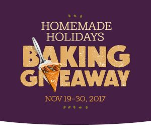 Imperial Sugar – Homemade Holidays Baking – Win 1 of 250 prize packs valued at $90 each