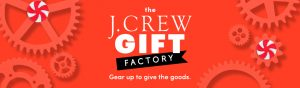J. Crew – Great Gift Card – Win a grand prize of a $500 J. Crew gift card OR 1 of 14 minor prizes
