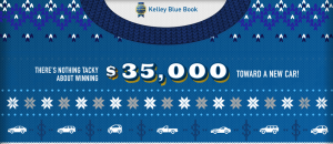 Kelley Blue Book – Best Buy Awards – Win a grand prize of $35,000 OR 1 of 50 sweaters