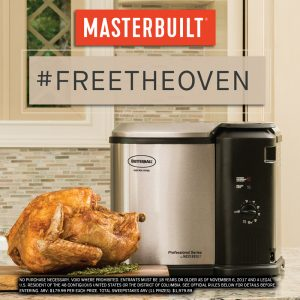 Masterbuilt – Butterball Electric Fryer – Win 1 of 11 prize packs valued at over $179 each