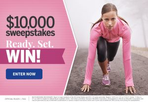 Meredith – Fitness Magazine – Win a $10,000 check