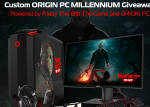 Origin PC – Friday the 13th – Win a grand prize of Gaming PC with select accessories valued at $4,270 OR 1 of 7 minor prizes
