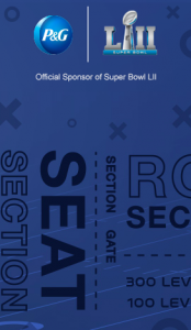 Procter & Gamble – P&G Everyday Best.Day.Ever – Win 2 tickets to Super Bowl LII in Minneapolis valued at $2,500