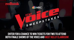 RedBook – The Voice Season 14 Finale – Win 2 tickets to The Voice Season 14 Finale & a $1,500 check