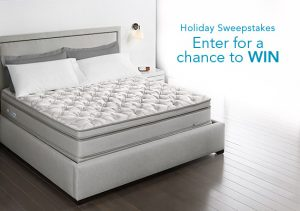Select Comfort – Sleep Number Holiday 2017 – Win a prize package valued at $4,849