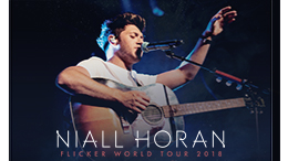 "SiriusXM – Niall Horan ""Flicker"" 2018 Tour Row-a-Show – Win 1 of 33 prizes of 10 tickets seated together to see Niall Horan LIVE valued at $300 each"