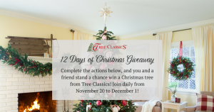 Tree Classics – 12 Days of Giveaway – Win 1 of 12 prizes