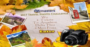 Tripmasters – 2017 Travel Image – Win a grand prize of a trip for 2 to anywhere Delta Airlines flies OR 1 of 3 minor prizes