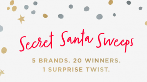 West Elm – Secret Santa – Win 1 of 20 gift cards valued at $250 each