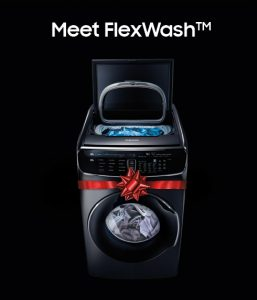 ABT Electronics – Samsung FlexWash and FlexDry – Win a set of Samsung FlexDry dryer & Samsung FlexWash washer