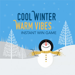 Bankmobile – #CoolWinterWarmVibes – Win 1 of 375 Walmart/Amazon or Target gift codes