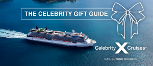 Celebrity Cruises – Holiday Gift Guide Promotion – Win 1 of 25 prizes