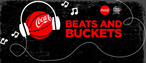 Coca-Cola – Beats & Buckets – Win a grand prize of a trip for 2 to the NCAA Final Four in San Antonio OR 1 of 200 Instant Win Game prizes