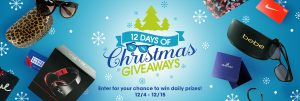 Eyemart Express – 12 Days of Christmas Giveaways – Win daily prizes