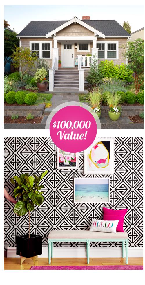 Hgtv Magazine Home Makeover Win 100 000 To Transf Giveawayus Com