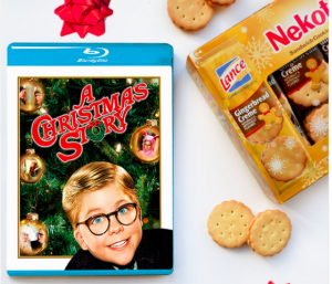 Lance S-L Snacks – Christmas Story Promotional Giveaway – Win 1 of 15 prize packages valued at $34 each