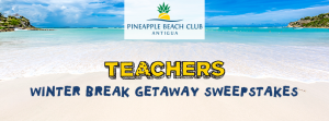 TV Land – The Teachers Winter Break Getaway – Win a 5-day trip for 2 to the Pineapple Beach Club resort in Antigua in the Caribbean valued at $4,750