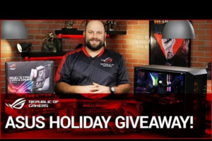 Asus – Rog Aura Sync Holiday Giveaway Sweepstakes