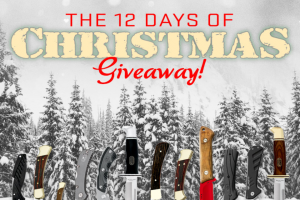Buck Knives – 12 Days Of Christmas Sweepstakes