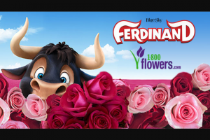 1-800-flowers – Ferdinand – Win – Four (4) roundtrip airline tickets from the winners nearest major international US airport to Cancun
