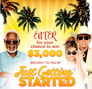iHeart Radio – Just Getting Started – Win a $3,000 gift card